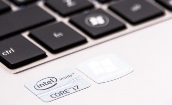 Zenbook Prime sticker