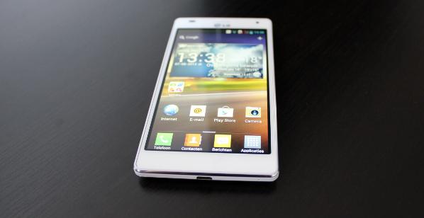 LG 4X HD front