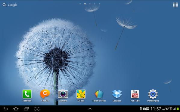 Samsung Note 10.1 software