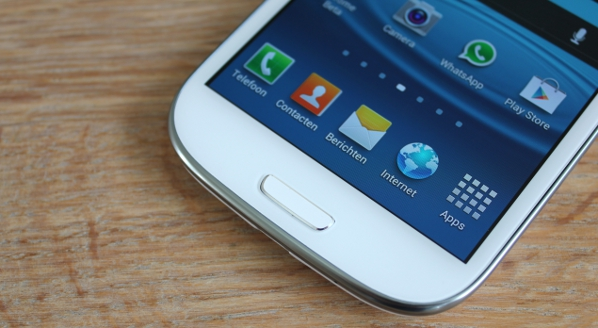 Samsung S3 knop