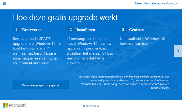 Pop Ups Erlauben Windows 10: Microsoft Pusht Windows 10-reservering Via Pop-up