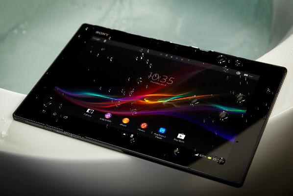 Sony Xperia Tablet Z - spatwaterdicht