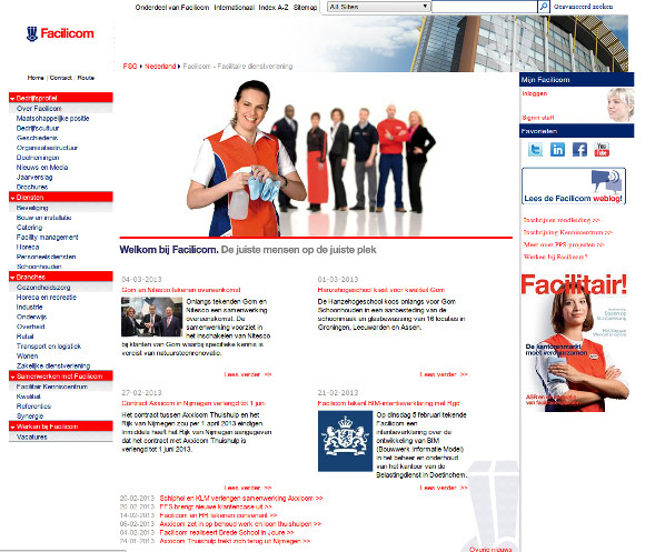 Facilicom Group website