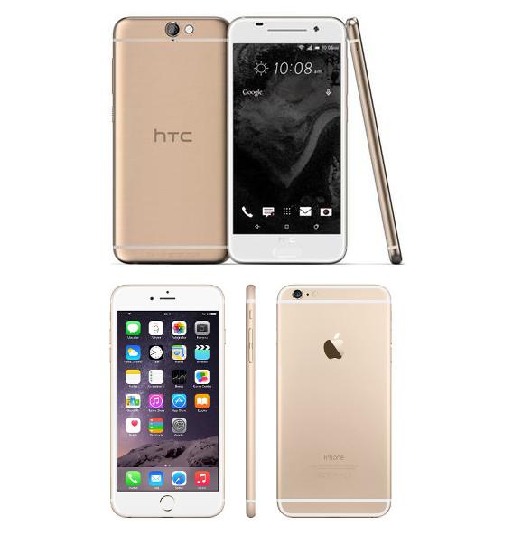 iPhone 6S vs HTC Aero