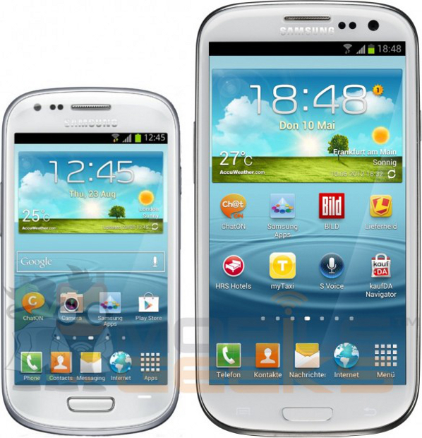 Samsung Galaxy S III met mini