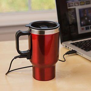 Travel mug USB