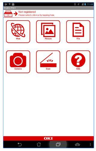 OKI Mobile print app