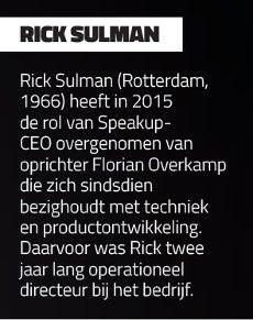 Rick Sulman, CEO Speakup