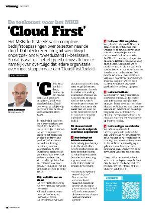 Cloud First voor het MKB