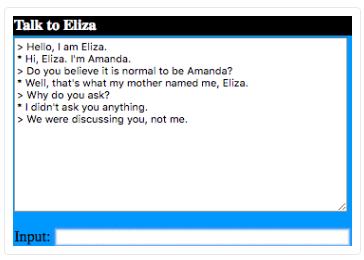 bot ELIZA