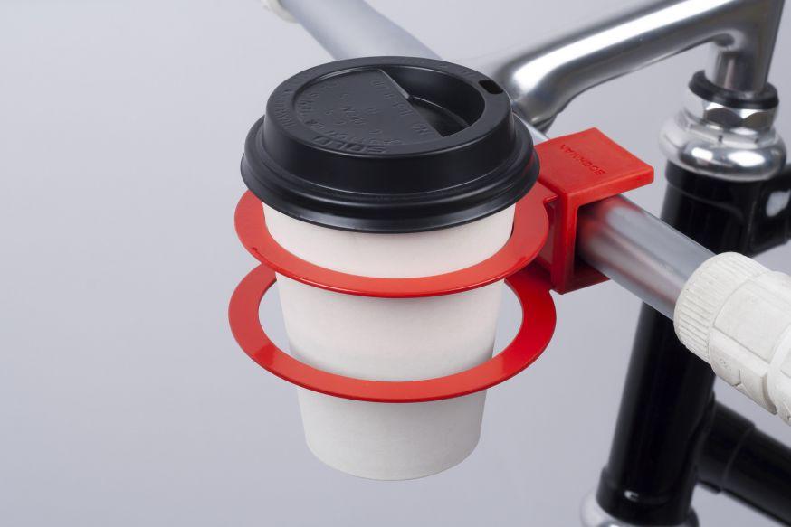 Koffiehouder fiets