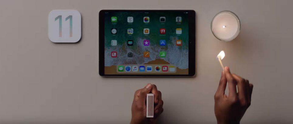 Apple iOS 11 op iPad