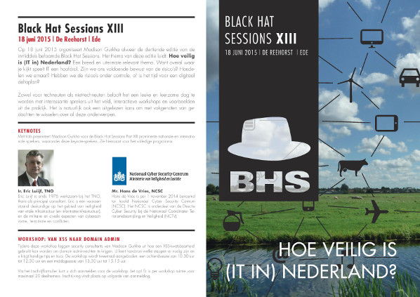 Black Hat Sessions XIII