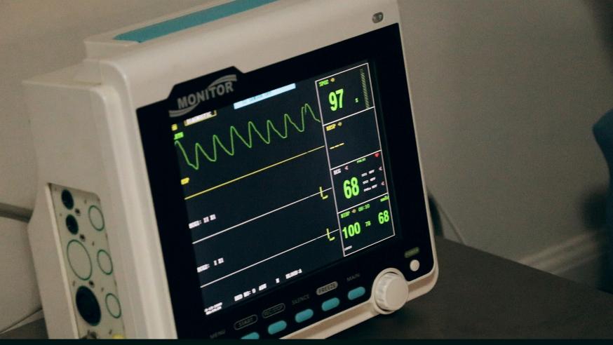 Hartmonitor in het ziekenhuis