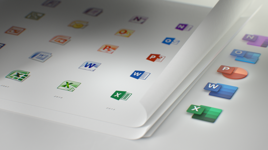 Microsoft Office-iconen