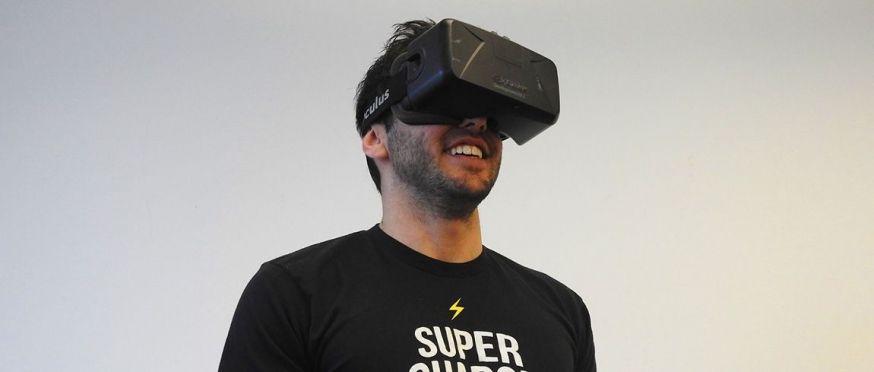 Virtual reallity-bril van Oculus