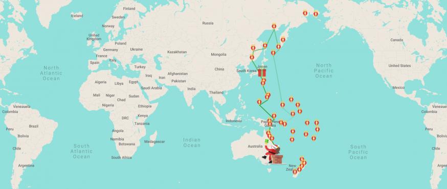Google Santa Tracker