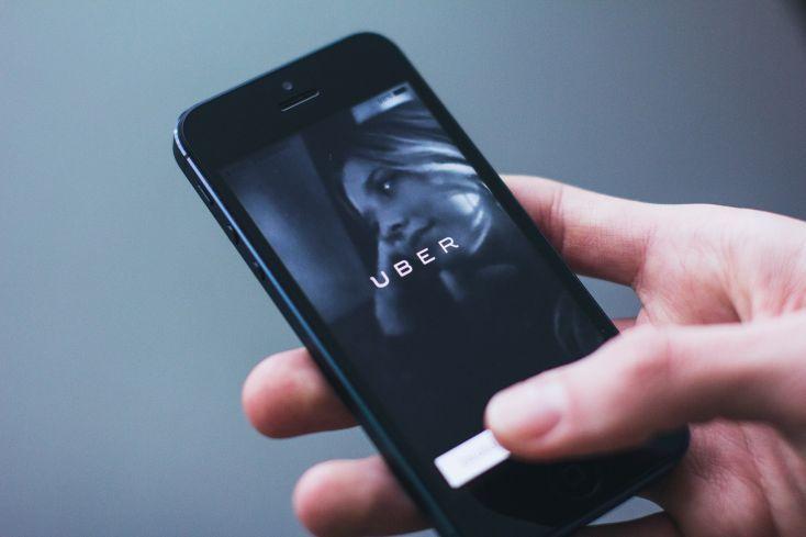 Smartphone met Uber