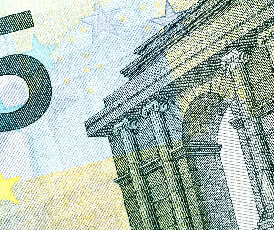 5-euro biljet, het is niet logisch te sparen op je toner bij een superieur merk als OKI