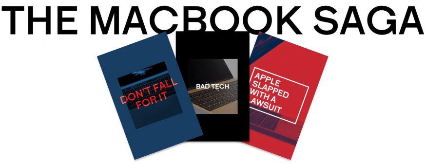 Foto van anti-apple website