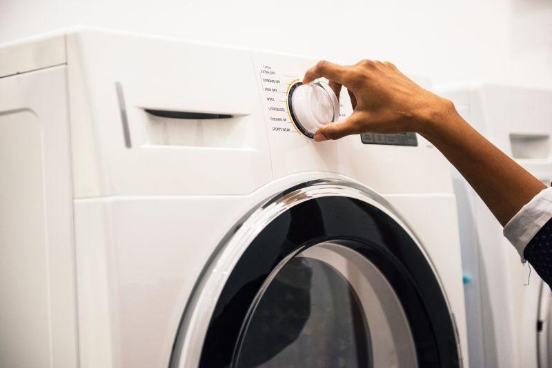 Wasmachine (willekeurige, niet eentje die is aangesloten op Internet of Things)